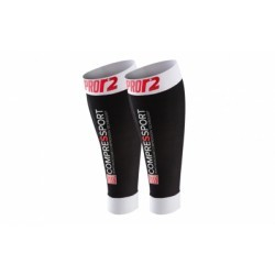 Paire de manchons Compressport Pro Racing R2 Swiss Noir