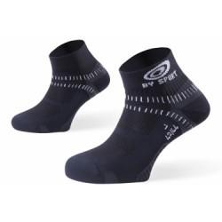 BV SPORT Paire de chaussettes LIGHT ONE Noir Gris