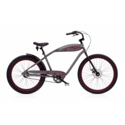 ELECTRA Vélo Complet Beach Cruiser Relic 3i Gris/Rouge