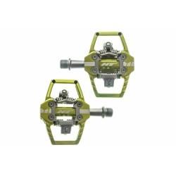 Paire de Pédales Automatiques HT T1 Vert