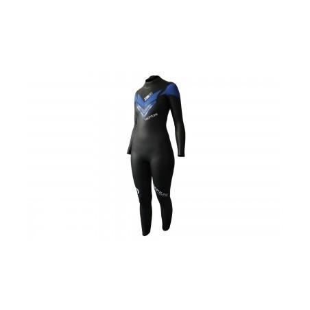 Combinaison Néoprène Femme Z3R0D NEPTUNE Noir Bleu