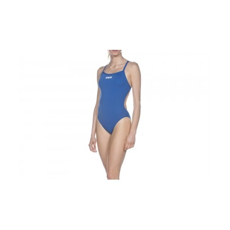 Maillot de Bain Femme ARENA SOLID LIGHTECH HIGH Bleu