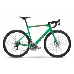 Vélo de Route BMC Roadmachine RM01 Shimano Dura Ace Di2 11V 2017 Vert / Rouge