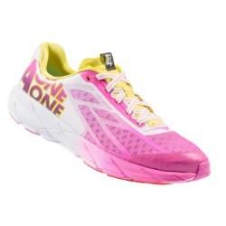 Chaussures de Running Femme Hoka One One TRACER  Blanc / Rose