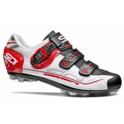 Chaussures VTT Sidi Eagle 7 Blanc/Noir/Rouge
