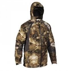 Veste actikam 500 imperméable camouflage furtiv