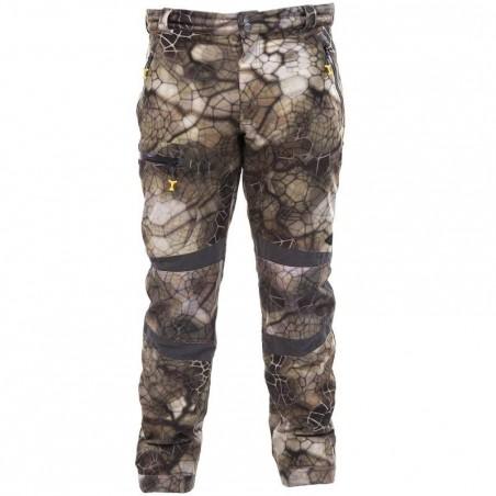 Pantalon imperméable actikam 500 camouflage furtiv