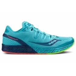 Chaussures de Running Femme Saucony Freedom Iso Bleu
