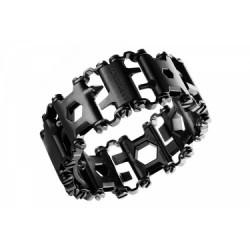 Bracelet Multi-Outils Leatherman Tread 29 Fonctions Noir