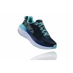 Chaussures de Running Femme Hoka One One Bondi 5 Blanc / Bleu
