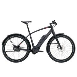 Vélo de Ville Électrique Trek Super Commuter + 9 Nuvinci Noir 2018