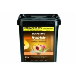 Boisson Énergétique Overstims Hydrixir Longue Distance Thé Pêche 3kg