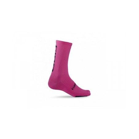 GIRO paire de chaussettes HRC TEAM Rose Noir