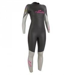 Combinaison néoprène nage eau libre OWSwim 4/3mm femme eau froide