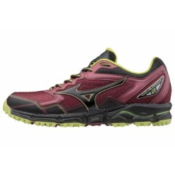 Chaussures de Trail Mizuno Wave Daichi 2 Noir / Rouge