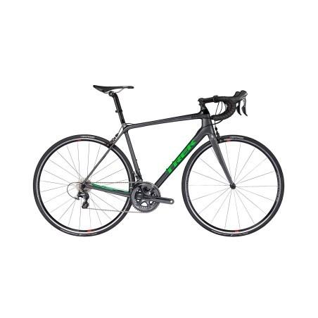 Vélo de Route Trek Emonda SLR 6 Shimano Ultegra 11V 2017 Gris / Vert