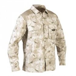 Chemise 500 camouflage island desert, manches longues