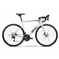 Vélo de Route BMC Roadmachine RM02 Shimano 105 11V 2018 Blanc / Noir / Orange