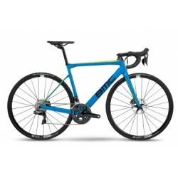 Vélo de Route BMC Teammachine SLR02 Shimano Ultegra Di2 11V 2018 Bleu / Noir / Jaune