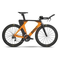 Vélo de Triathlon BMC Timemachine TM02 ONE Shimano Ultegra Di2 11V 2018 Orange / Noir