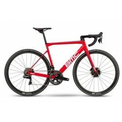 Vélo de Route BMC Teammachine SLR01 Shimano Dura Ace Di2 11V 2018 Rouge / Blanc / Noir