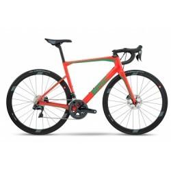 Vélo de Route BMC Roadmachine RM02 Shimano Ultegra 11V 2018 Rouge / Vert