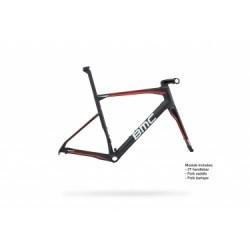 Kit Cadre BMC 2018 Roadmachine 01 Noir Blanc Rouge