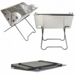 Barbecue pliable UCO Mini Flatpack Grill et Firepit