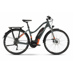 VTC Électrique Haibike Sduro Trekking 8.0 Shimano SLX XT 10V Vert / Orange 2018