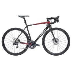 Vélo de Route Trek Emonda SL 7 Disc Shimano Ultegra Di2 11V 2018 Noir / Rouge