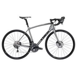 Vélo de Route Trek Emonda SLR 6 Disc Shimano Ultegra 11V 2018 Gris / Noir