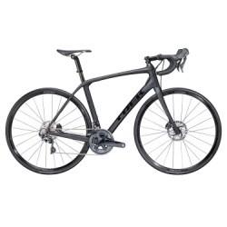 Vélo de Route Trek Domane SLR 6 DISC Shimano Ultegra 11V 2018 Noir / Noir