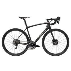 Vélo de Route Trek Emonda SLR 8 Disc Shimano Dura Ace 11V 2018 Noir / Gris