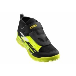 Chaussures VTT Mavic Deemax Elite Noir Jaune Fluo