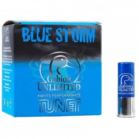 CARTOUCHE GABION UNLIMITED BLUE STORM 33g CALIBRE 12/76 N°6 X25