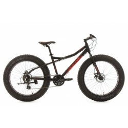 VTT Fatbike 26´´ SNW2458 noir TC 46 cm KS Cycling