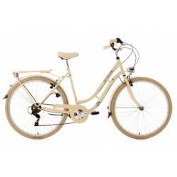 Vélo de ville 28´´ Casino beige TC 53cm 6V KS Cycling