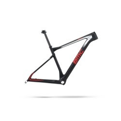 Kit Cadre BMC 2017 Teamelite 01 Noir Blanc Rouge