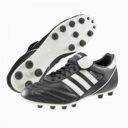 Chaussure football adulte Kaiser Liga FG noir blanc