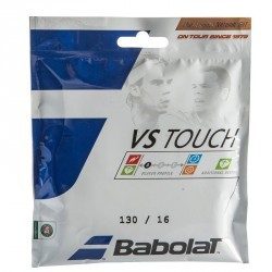 CORDAGE DE TENNIS VS TOUCH 1.30 GRIS CLAIR