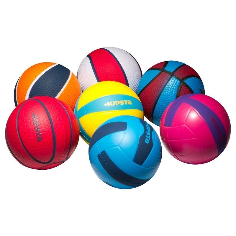Avis et test sur mini balle basketball mousse kipsta for Piscine a balle mousse