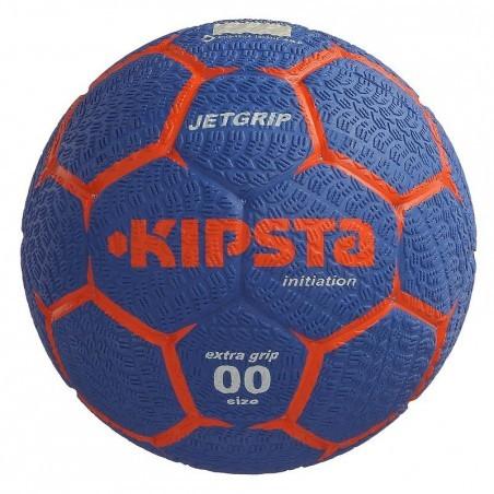 Ballon de handball enfant Jet Grip T00 bleu foncé rouge