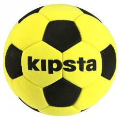Ballon de football Feutrine jaune