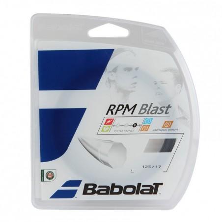 CORDAGE DE TENNIS RPM BLAST 1.25 NOIR