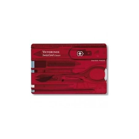 SwissCard Classic Victorinox rouge