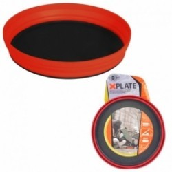 Assiette pliable XPLATE Sea to Summit rouge