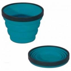 Tasse pliable XCUP Sea to Summit turquoise
