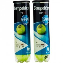 Bi pack de balle tennis TB 920 jaune
