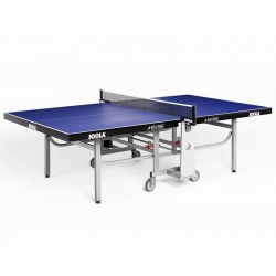 Table de tennis de table Joola Rollomat Indoor bleue ITTF.