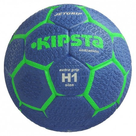 Ballon de handball enfant Jet Grip taille 1 bleu vert